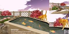 TLC@ The Cosmopolitan event July 17th-30th (- TRUE & LAUTLOS CREATIONS -) Tags: animal cat cosmopolitan mesh wildlife sl event secondlife animated tlc