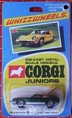 Lotus Europe (streamer020nl) Tags: auto greatbritain car metal toys corgi europe lotus models card junior gb 1970 juniors 32 collector diecast jouets speelgoed mettoy whizzwheels