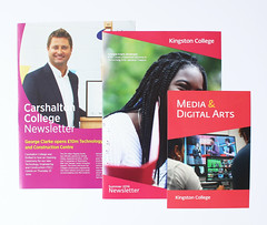 Kingston/Carshalton College Newsletter and Media show Leaflet (aydinimustafa) Tags: graphics graphic graphicdesign design art artwork illustration type text typography editorial layout book colour college school university work job placement photography grid inspiration posters poster banner leaflet digital print photoshop indesign illustrator carshalton kingston branding campaign summer brand logo marketing advertisement ideas development billboards socialdesign exploration experimentation xerox newsletter