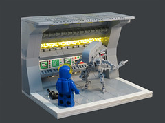 Classic Space Alien (Grantmasters) Tags: classic lego space moc xenomoprh