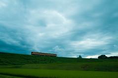 Kobuchizawa   (tenugui) Tags: cloud jr railway sky train trains yamanashi