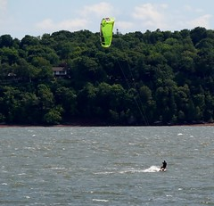 Wind surfing (Jacques Trempe 2,400K hits - Merci-Thanks) Tags: stefoy quebec canada fleuve river stlaurent stlawrence winf surfing vent voile sport action