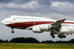 CHR - Boeing 747-8ZV(BBJ) (VQ-BSK) Qatar Amiri Flight (Aro'Passion) Tags: chr boeing 7478zv bbj vqbsk qatar amiri flight natw aropassion airport chteauroux dols atterrissage landing approche approach touch 60d canon photography photos business jet 7478 b747 b7478