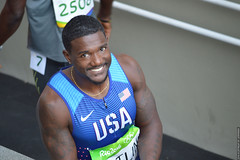 Justin Gatlin (lenpereira) Tags: olimpadas olympics rio2016 atletas athletes atletismo athletics justingatlin teamusa 200m 200mrasos