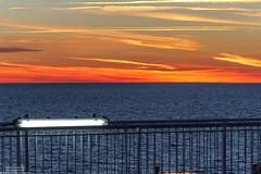 Sunset in the Kattegat (maritime.fotos) Tags: sunset sonnenuntergang kattegat ostsee romantic seefahrt gteborgkiel berfahrt sun orange sea