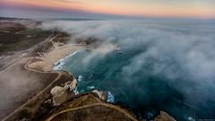 Clarity © Barry Blanchard.jpg (BarryB.) Tags: ocean dji pacificocean canon1635ii sunsetphotography canon5dsr aerial bonnydoonbeach aerialphotography m600