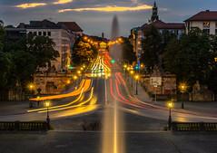 Golden Hour Munich Traffic Lights (*Capture the Moment*) Tags: 2016 angelofpeace fotowalk friedensengel goldenhour goldenestunde headlights munich münchen nachtaufnahmen nightshot prinzcarlpalais prinzregentenstrasse scheinwerfer sonya7ii sonyfe2470mmf4zaoss traffic trafficlights verkehr