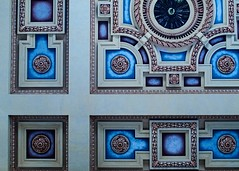 Ceiling Details (Photographs By Wade) Tags: kansascity unionstation missouri railroadstation ceiling decorative design vintage restored restoration