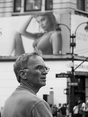 Victor's Secret... (kogh65) Tags: new york photography photo travel art 2016 nyc ny street black white leica m mono tone city outdoor life people depth field reportage young kogh candid camera focus pov picture 50mm image manhattan artist kogh65 victoria secret victor