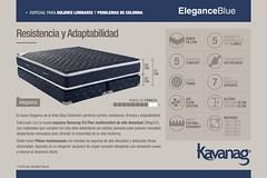 Lnea Blue Collection - Elegance (Kavanag Colchones & Sommiers) Tags: mattress colchon sommier colchones sommiers kavanag espuma resortes dormir soar