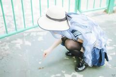 vyy 13 (Nhp xinh trai siu cp !) Tags: holidays summer outdoor portrait kawaii seifuku cute taiwan japan vietnam china smile naturalday natural sunlight pinic blue ops lizard cyan