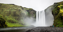 Icelandic waterfall (arsamie) Tags: iceland waterfall long exposure smooth green foam river stream water landscape gray