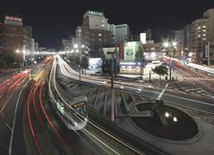 Takanobashi (spiraldelight) Tags: tse17mmf4l eos5dmkii hiroshima  rail  traffic trails