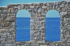 Finestre sul Mare (Carlo M Vella) Tags: vista vacanze liguria italia mare trip tour summer portovenere simmetria igersitalia unafinestrasulmare