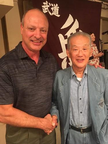 Meeting Kojo-ryu's Hayashi Shingo Sensei