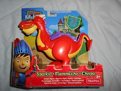 Sparkie from Mike the Knight (ItalianToys) Tags: mike knight figure action il cavaliere dragon spikie drago toy toys giocattolo giocattoli