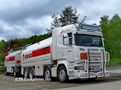 SCANIA R490 8x2 Streamline Highline - ESSO - Midt-Norsk-Olje - XD85770 - PS-Truckphotos 2016 (PS-Truckphotos) Tags: scania r490 8x2 streamline highline esso midtnorskolje xd85770 pstruckphotos 2016