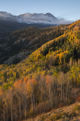 Eagles Nest Vertical (Aaron Spong Fine Art) Tags: eagles nest wilderness colorado gore range peaks peak cataract lake eaglesmere lakes silverthorne kremmling autumn fall foliage colors colorful 2016 mountain mountains rocky rockies aspen trees aaron spong