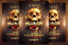 Halloween Party | Gold Pack Templates (Rome Creation) Tags: autumn bashnightclub club drinks event fest flyer flyerparty gold goldeffects graphics halloween halloweencarnival halloweennight halloweenparty happyhalloween horrornight nightmare october pack party photoshoppsd red scary show skull template thriller zombie