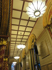 UK - London - Open House London 2016 - King's College Chapel - Ceiling (JulesFoto) Tags: uk england london kingscollegechapel aldwych georgegilbertscott ceiling