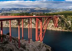 DSC03676-2 (UmitCukurel) Tags: sunset zadar croatia sea bridge sky travel jasenice zadarskaupanija hr