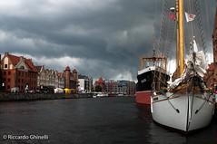 Danzica (Riccardo Ghinelli) Tags: danzica polonia nave museo ship sea acqua water temporale nuvola cloud weather meteo