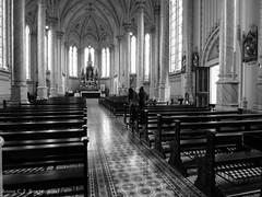Inside the faith. (annacarolinabazzanela) Tags: church oldchurch churchinterior igrejasdomumdo amateurphotographer creativephotography photographyislife bnw bnwcaptures bnwsociety