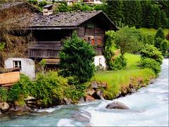 The old  house at the Ahr in St. Johann / South Tyrol (Ostseetroll) Tags: geo:lat=4697870636 geo:lon=1193952008 geotagged ita italien stjohann sdtirolaltoadige italia italy alpen alps ahrntal