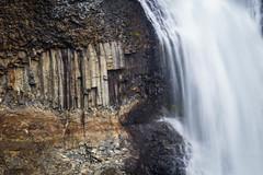Iceland 2016 - Haifoss e Granni (cesbai1) Tags: iceland is islande islanda islandia waterfall haifoss e granni summer 2016 roadtrip sony alpha77 a77 long exposure pause lente longue