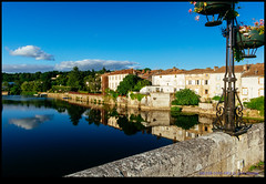 160728-0145-XM1.jpg (hopeless128) Tags: buildings france sky eurotrip 2016 bridge river clouds confolens aquitainelimousinpoitoucharen aquitainelimousinpoitoucharentes fr