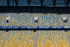 Colorful Patterns on Stadium Seats (tarmo888) Tags: sony qx100 variosonnart1828100 geotaggedphoto geosetter sooc foto sonycybershot lensstyle smartlens zeiss carlzeiss playmemoriesmobile year2016 special ukraine  ukrayina   lviv lww lvov lemberg   leopolis lwow autohdr
