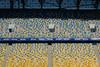 Colorful Patterns on Stadium Seats (tarmo888) Tags: sony qx100 variosonnart1828100 geotaggedphoto geosetter sooc фотоfoto sonycybershot lensstyle smartlens zeiss carlzeiss playmemoriesmobile year2016 special ukraine україна ukrayina украи́на украина lviv lwów lvov lemberg львів львов leopolis lwow autohdr