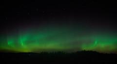 Aurora borealis 2.10.2016 (A.Hakonen) Tags: sony sonya6300 a6300 auroraborealis autumn nightsky night outdoor finland stars bigdipper aurora