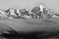 Tetons at Dawn (David C. McCormack) Tags: americana artistic blackwhite bw blackandwhite country eos6d eos environment tetons west western recreation grandtetonnationalpark grandteton inspiration jacksonhole jacksonwyoming landscape mountains nature nationalparks outdoor rockymountains rural sunrise spiritual sunriseset wyoming z