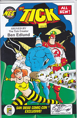 SDCC 2016 SPECIAL EDITION BEN EDLUND AUTOGRAPHED NO SERIAL NUMBER (vsndesigns) Tags: beta the tick vs arthur sentinel prime optimus successor townsend coleman lego minifig minifigure dcon 2014 ball mylar balloon buttons bonanza pencil indie shocker gbjr toys with tie and tshirt zombie in a steel box fox promotional totally kids magazine 45 club spoon taco bell meal commercial eli stone ben edlund little wooden boy comic book merchandise rare limited edition 80s 90s collector museum naked super hero heroine collection photo screen