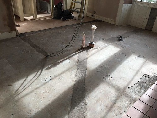 Floor prep - screed
