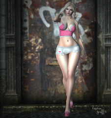 ~206~ Meeting In Doorways (αиα ¢αραℓιиι) Tags: secondlife fashion belleza logo pinkfuel entwined thecrossroadsevent ikon 1hundred hillyhaalan cosmopolitanevent secrets slackgirl milaposes