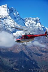 Helicopter Rescue on Everest (Tony Hodson   www.tonyhodson.com) Tags: nepal khumbu everest outdoor helicopter rescue mountain mountaineering climbing expedition base camp wow snow white blue