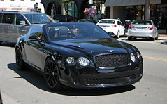 Bentley Continental Supersports Convertible (SPV Automotive) Tags: bentley continental supersports convertible exotic sports car black