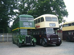 Buses at EATM, Carlton Colville