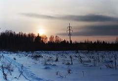 (darialesnaya) Tags:       filmfilmfoto russia nature sunset