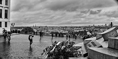 DSC08858 (photoaffaire) Tags: prag praha prague bw blackandwhite moldau tschechien czech republic sonya7 sony a7ii slr magic anamorphot voigtlnder 50mm
