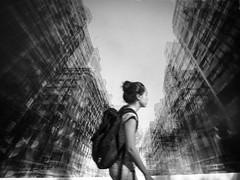 Picture in Picture (Daniel Coitio) Tags: fotografia mujer joven street