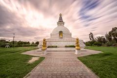 Shanti Stupa (Ashmalikphotography) Tags: shantistupa longexposure ndfilter inderprasthapark clouds incredibleindia worldpeace