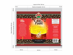 Caf do Padre 1 (Leyldo Costa) Tags: desenho industrial alimentos embalagem embalagens design designergrfico marketing logo logomarca
