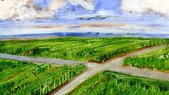 route 44 (Frdric Glorieux) Tags: frdricglorieux france route road art peinture painting a4 acryl