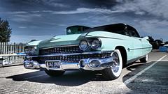 1959 Cadillac Eldorado, Chrome, Fins & White Wall Tyres! (ManOfYorkshire) Tags: 1959 cadillac eldorado saloon southyorkshire transport museum aldwarke rotherham carpark display onshow openday whitewall tyres usa american car automobile