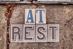 "tired tuesday (listening to ""oney"", johnny cash)  (EXPLORE # 21) (jeneksmith) Tags: concrete letters tile bigeasy crescentcity nola neworleans louisiana canon"
