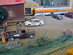 Oct 18,2016 (THE RANGE PRODUCTIONS) Tags: toy diecast diecastdioramas dioramas 164scale 187 hoscalefigures 164 johnnylightning greenlight model matchbox law layout athearn hoscale