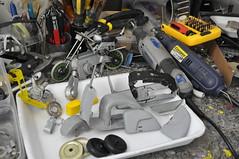 UM POUCO DE BAGUNÇA FAZ BEM! (Nivardo C. Nepomuceno) Tags: de artesanato fotos ou em todos aço suas miniaturas trabalhosmanuais reciclagens visualizar manuaisx lambretinhas